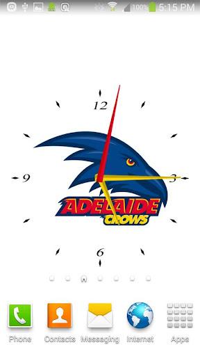 Adelaide Crows Analog Clock