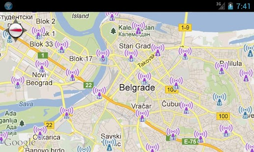Hotspotting - Free WiFi Map- screenshot thumbnail
