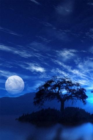 3D moonlight Live Wallpaper HD - screenshot