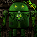 Steampunk Droid Free Wallpaper icon