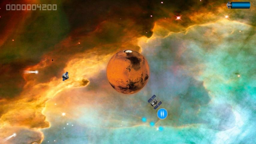 Asteroids Command- screenshot