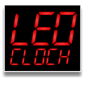 PK Led Clock Widget