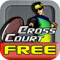 Cross Court Tennis Free logo