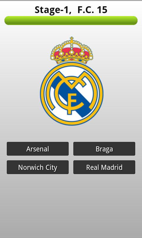 Football Club Logo Quiz - screenshot