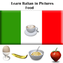 Italian in Pictures Food Free logo