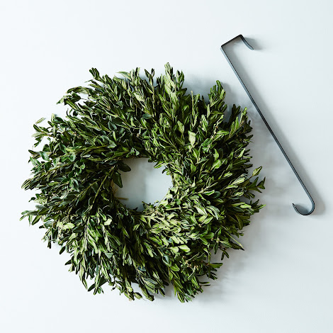 Spring Boxwood Wreath
