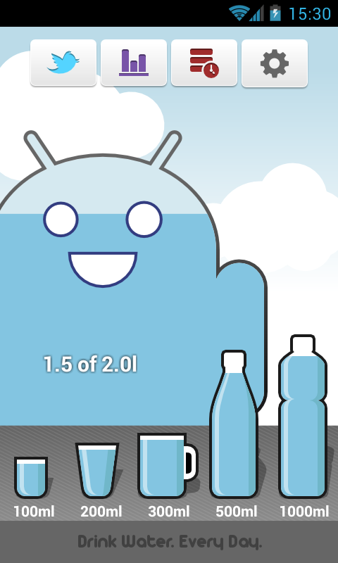 Carbodroid – Drinking Water- screenshot