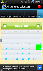 Multi Cultural Calendar screenshot 6