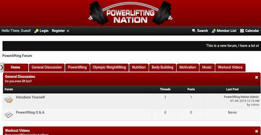Powerlifting Nation Forum