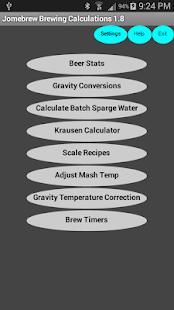 Beer Stats and Conversions - screenshot thumbnail