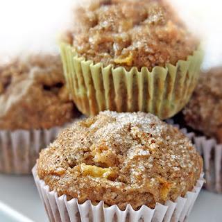 Apple-Pear Multigrain Muffins.