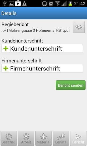【免費生產應用App】bau.io Regiebericht-APP點子