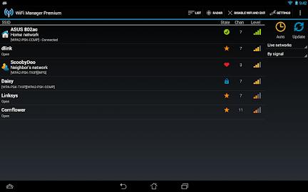 WiFi Manager Screenshot 2