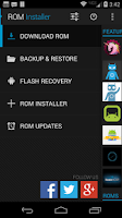 Screenshot of ROM Installer