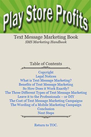 SMS Marketing Handbook