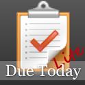 Due Today Lite icon