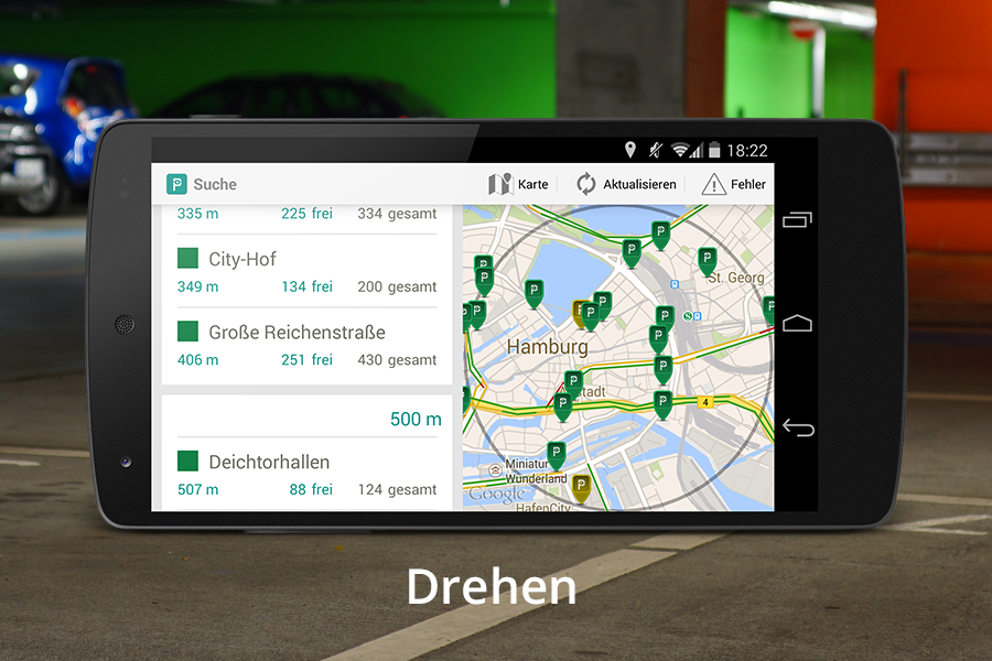 Parkda - Parken in Deutschland- screenshot