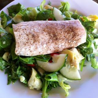Grilled Mahi Mahi on Chopped Salad