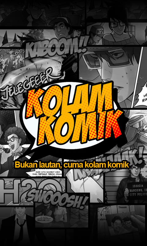 Kolam Komik- screenshot
