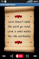Screenshot of Love Inspirations