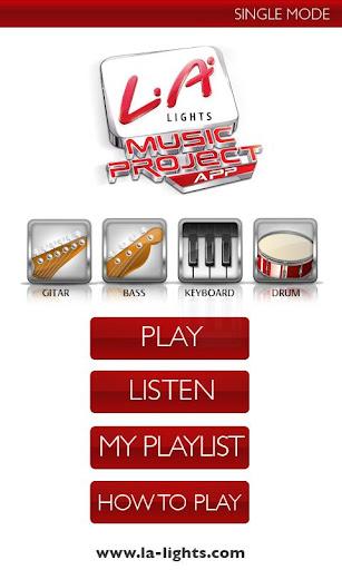 LA Music Project App