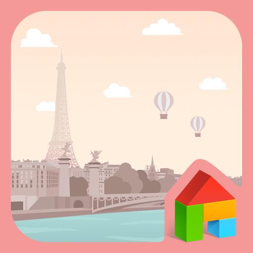 ドキドキパリ ドドルランチャーテーマ 個人化 App LOGO-APP試玩