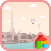 Paris LINE Launcher theme