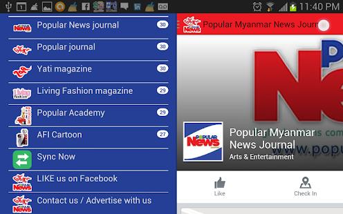 Popular Myanmar Journal