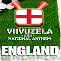 ENGLAND VUVUZELA and ANTHEM! logo