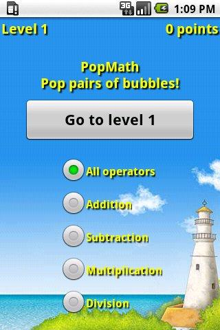 PopMath- screenshot