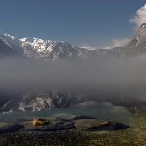 In the fog! by Jože Borišek - Landscapes Weather ( bohinj-slovenua )