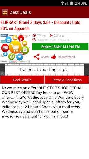 【免費購物App】Zest Deals-APP點子