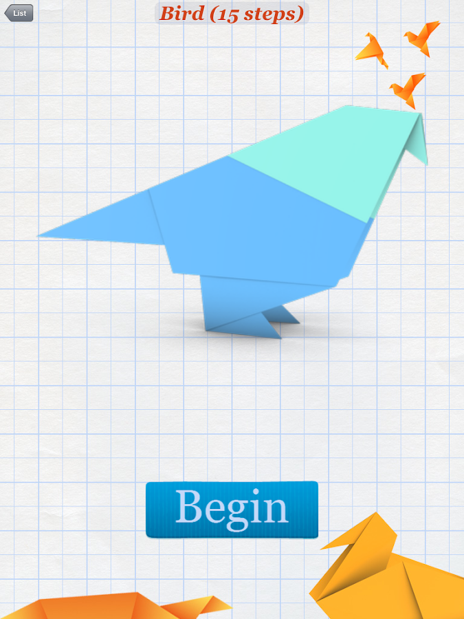 How to Make Origami Birds - Android Apps on Google Play - photo#44