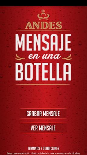 Andes Botella