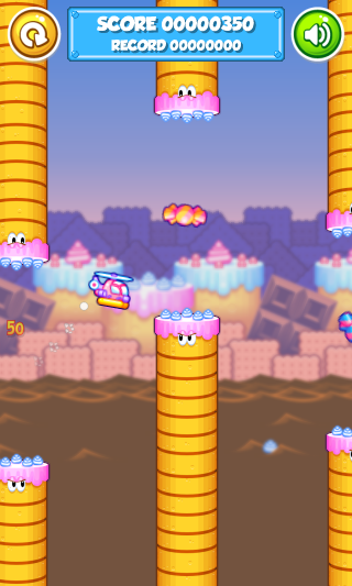 Candy Copter- screenshot