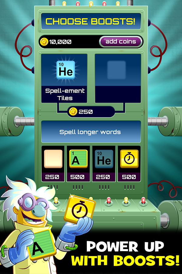 Word Science- screenshot