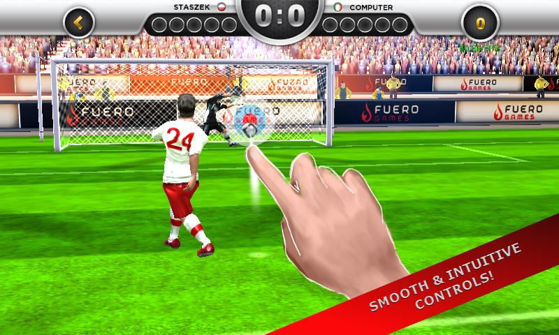 EuroGoal 2012- screenshot