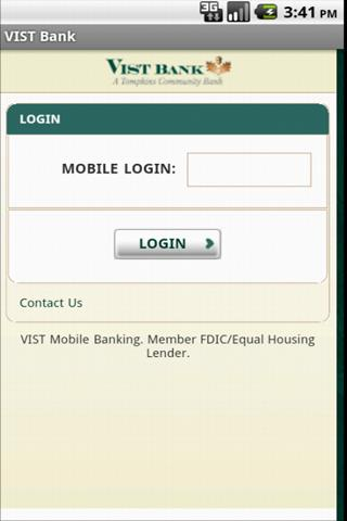 VIST Bank Mobile - screenshot