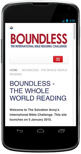 Salvation Army Bible Challenge
