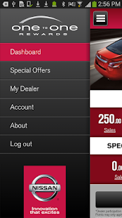 Nissan One To One Rewards- screenshot thumbnail