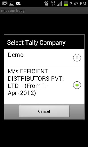 mipsum - Tally On Mobile