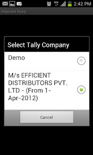 mipsum - Tally On Mobile - screenshot thumbnail