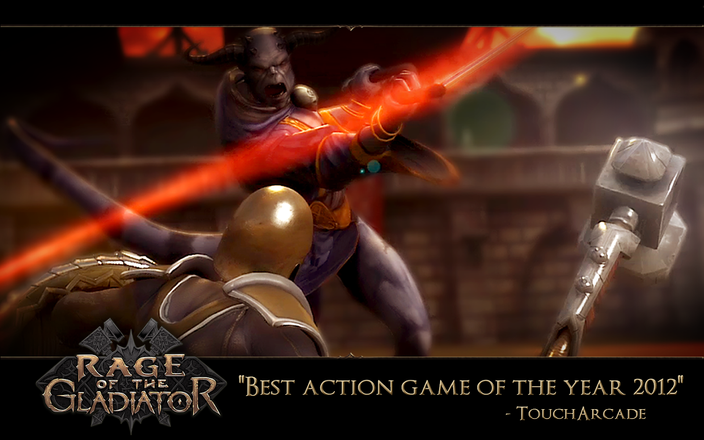Rage of the Gladiator - screenshot