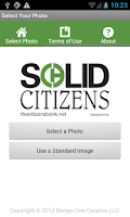 Screenshot of Solid Citizens Photo Card