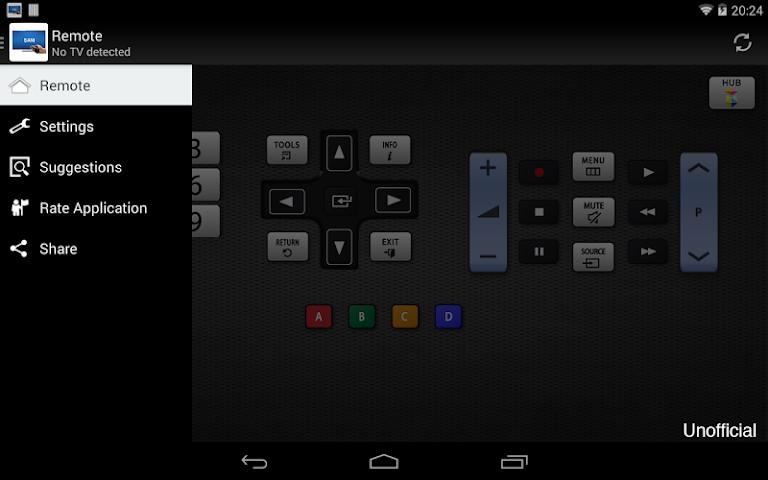 android Télécommande pour TV Samsung Screenshot 3