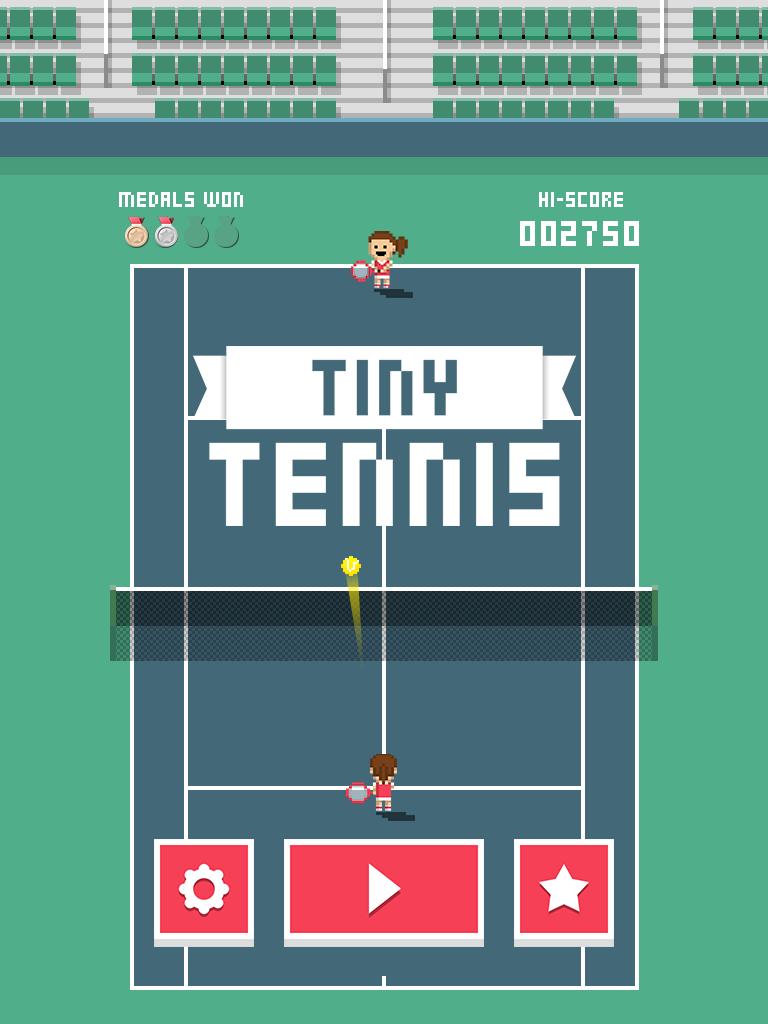 Tiny Tennis screenshot #1