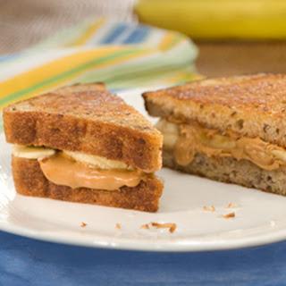 Cinnamon-banana Peanut Butter Paninis