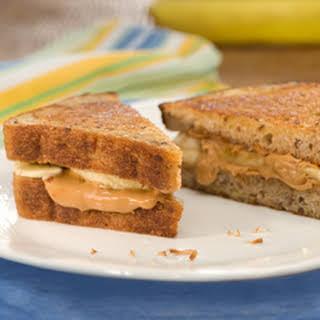 Cinnamon-banana Peanut Butter Paninis.
