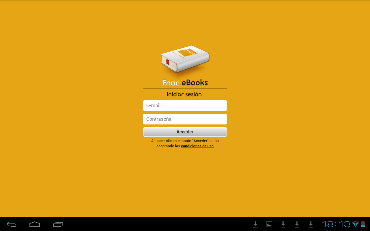 Fnac ebooks - screenshot