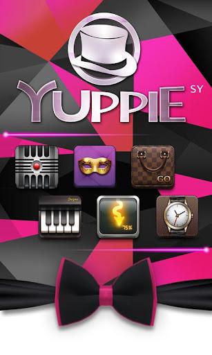 Yuppie GO Launcher Theme